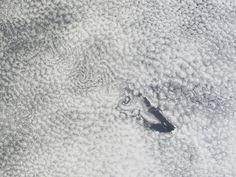 NASA - Cloud Vortices Off Saint Helena Island