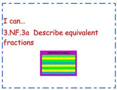3rd Grade Math CCSS Objectives with Pictures