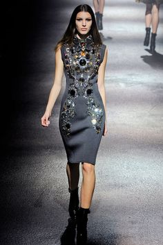 Beading trend for Fall 2012- Lanvin