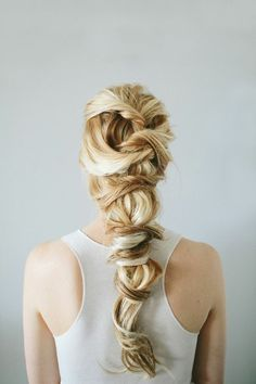 Hair:  Wrapped #hair.