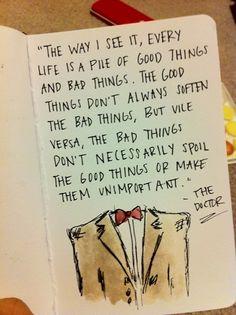 Timelord wisdom.
