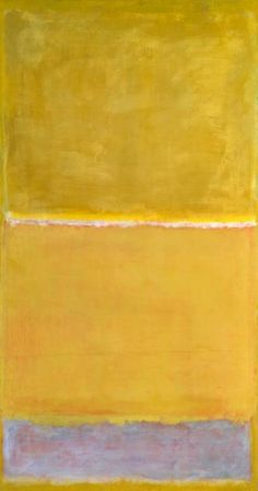 Rothko; The complimentary pairing of yellow and violet