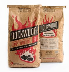 Rockwood Charcoal  - The Dieline -