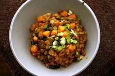 Curried Lentils with Sweet Potatoes, Smitten Kitchen
