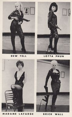 cast of The Girl From Auntie, 1967
