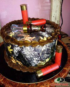 Awesome Mossy Oak Camo Cake!