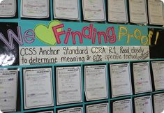 Finding Proof - Citing Evidence