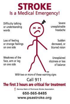 National Stroke Alert Day is May 5 #nurse