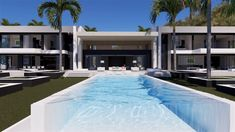 Spectacular Modern villa design with over 11000 sq.ft. of interior space... don't miss this high resolution virtual visit