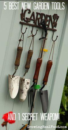 secret weapon, garden tools