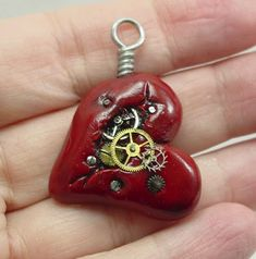 Steam punk Broken Heart ~ beautiful work!