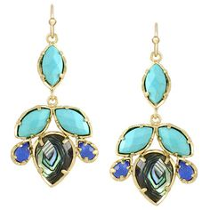Kendra Scott Vani Chandelier Earrings - channel a little island chic when you slip on these stunning earrings