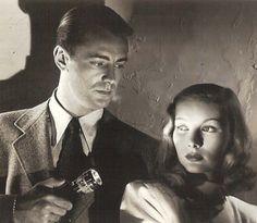 Alan Ladd and Veronica Lake - 1940s Film Noir – The Blue Dahlia