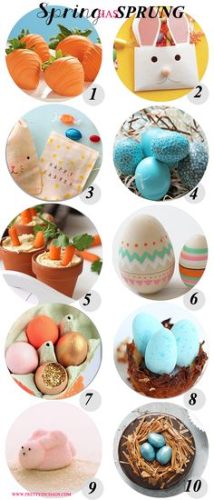 Spring has Sprung #easter crafts #easter ideas