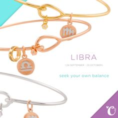 Libra by Origami Owl for the CORE Collection. What's your sign?! #origamiowl