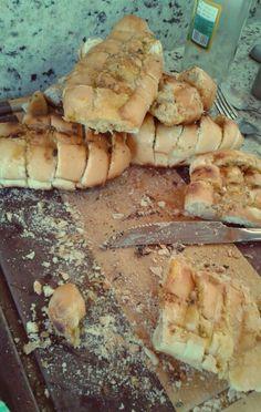 Pão de alho - delícia!