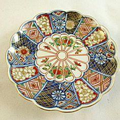 Small Imari Dish, 19th Century.