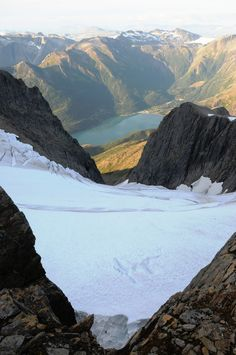 Svartisen glacier, Norway