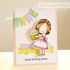 STAMPARADISE: MFT New Stamp Set - Sweet Birthday Wishes