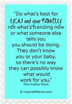 Exactly! Mama always knows what's best :)
