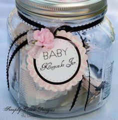 Baby Keepsake Jar