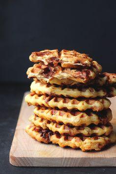 Daim Bar Waffles