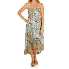Rancho Estancia Women's Shanti High-Low Dress