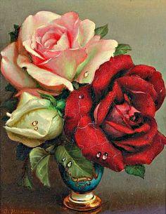 Irene Klestova  Bouquet of Roses  20th century