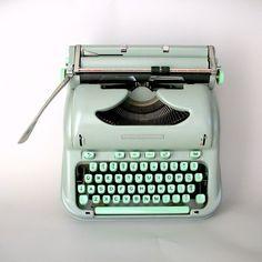 Vintage Hermes 3000 Typewriter