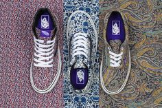 Update your Vans collection with some Liberty prints