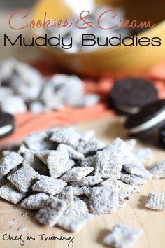 Cookies and Cream Muddy Buddies!