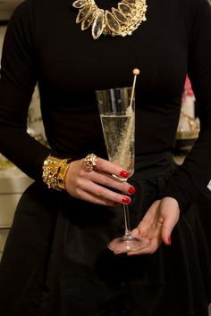 New Year's Eve Soirée...rock candy can go in sparkling apple cider, sparkling cranberry...