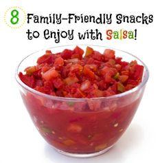 8 Family-Friendly Snacks to Enjoy with Salsa | Babble #Spon
