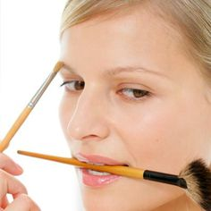 """Got Thin Brows?  """"For people with thin brows, use a pencil first that is a bit lighter than your natural color to define the shape, then follow with a brow powder that is close to your natural hair color with a thin, strong angle brush. After, use a brow gel or sealer which will set the powder. My fave is the Model in a Bottle - Long Lasting Eyebrow Sealer. It is by far the best sealer out there and I have tried many.""""  -Lauren Fanuzzi, beauty guru and art director"""