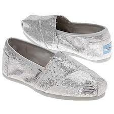 I want Silver Sparkly TOMS