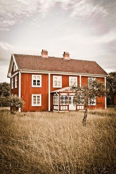 Home in Sweden. i want to go to there.