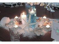 décoration de table thème îles