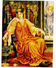 Evelyn de Morgan, The Hourglass, 1905