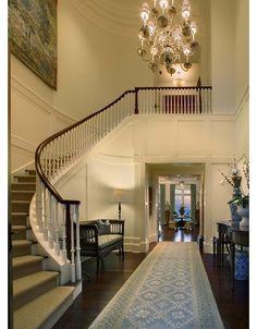 Grand foyer - Home and Garden Design Ideas