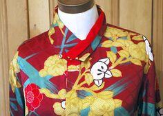 Kimono fabric shirt
