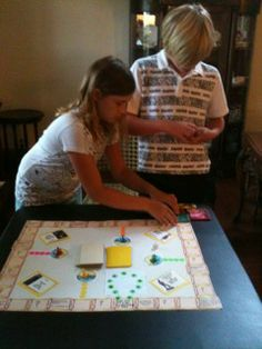 Want to create your own Genealogy Board Game for kids?