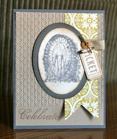 Stampin' Up! Birthday  by Krystal De Leeuw at Krystal's Cards and More: Spring Stampin' Club - Sentimental Journey