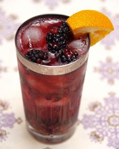 Blackberry Bourbon Cobbler