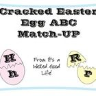 An Easter/Spring themed upper and lower case ABCs match-up.      An additional use for these cards is giving students half and egg and their matching...