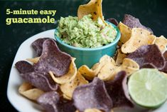 Recipe: 5-Minute Easy Guacamole