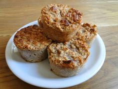 #healthy Pear muffins with protein.
