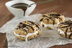 Chocolate Oatmeal Moon Pies   |  Taste and Tell