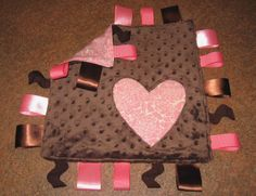 #DIY Taggie Blanket Tutorial from @Melissa Squires Brown | Supplies from Joann.com