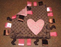 #DIY Taggie Blanket Tutorial from @Melissa Brown | Supplies from Joann.com