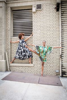 Alvin Ailey fashion spread for Elle by photog Kathryn Wirsing. Every picture is stunning.